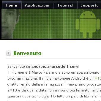 Nasce AndroidDuff.MarcoDuff.com